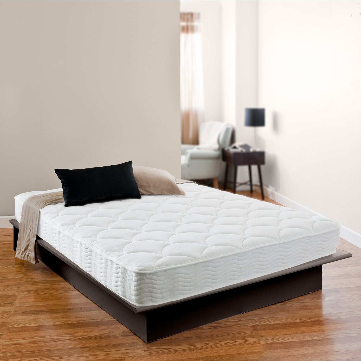Zinus Night Therapy Spring 8 Inch Premium Mattress Why